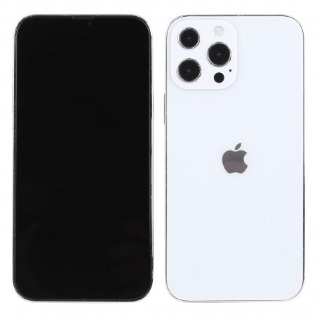 Apple iPhone 13 pro argent factice écran noir